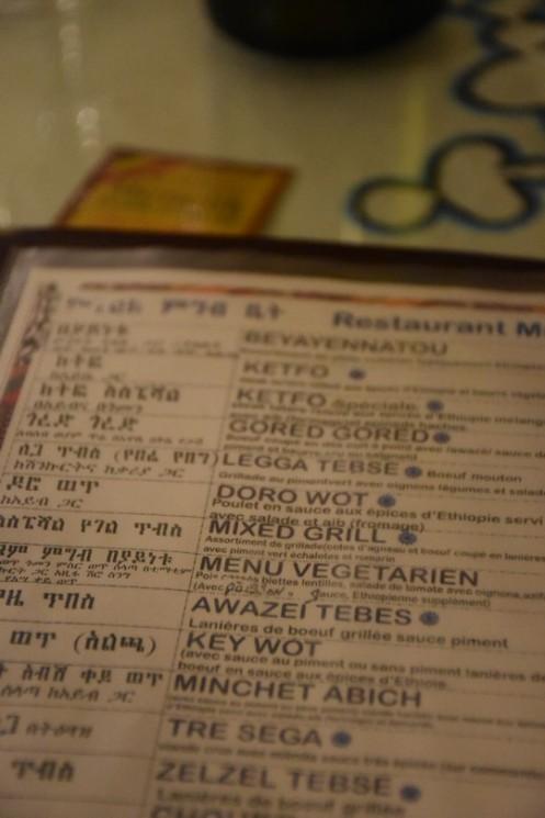 Restaurant Menelik_Paris © Ekkehart Schmidt