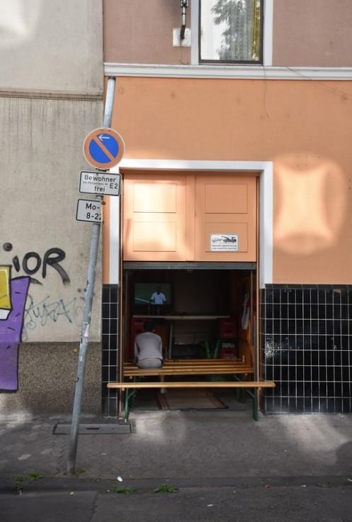 Public Viewing in der Garage des Zing ⓒ Ekkehart Schmidt