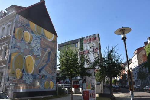 Mural von MadC im Artwalk_Saarbrücken © Ekkehart Schmidt