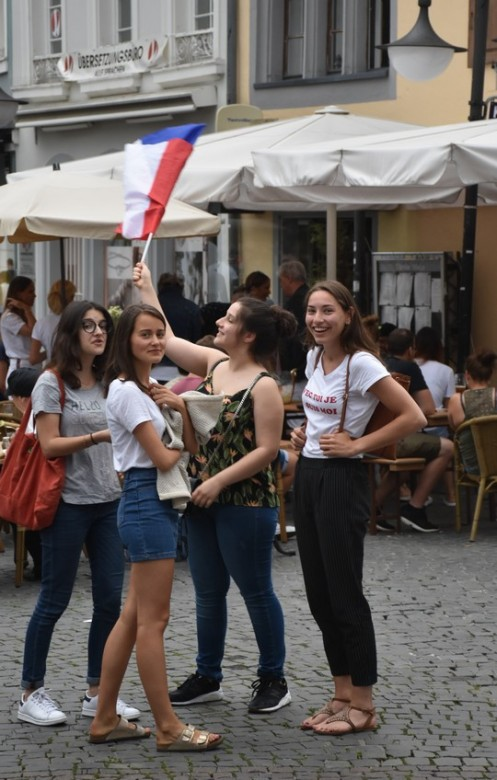 Marseillaise auf dem St. Johanner Markt ⓒ Ekkehart Schmidt