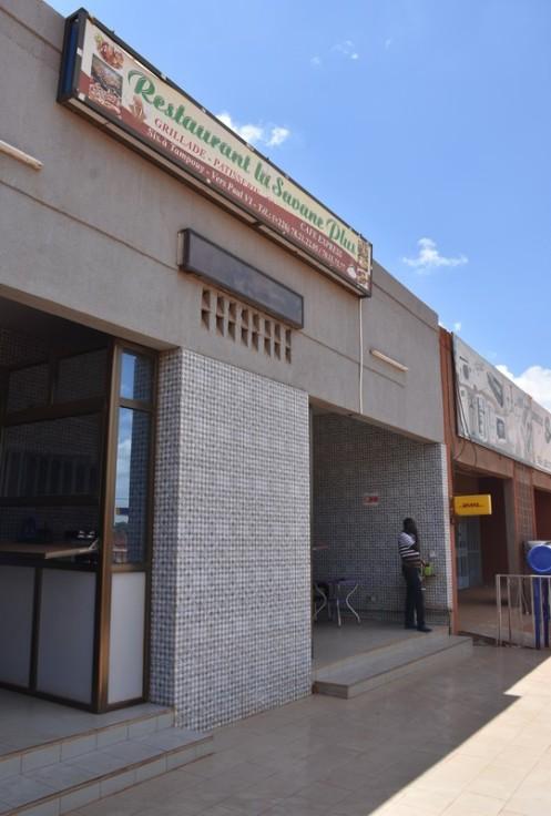Restaurant Savane Plus_Ouagadougou ⓒ Ekkehart Schmidt
