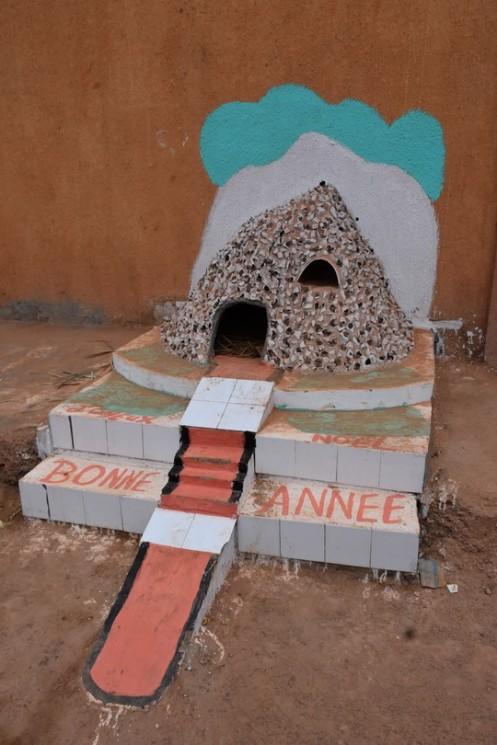 Weihnachtskrippen in Ouagadougou (c) Ekkehart Schmidt
