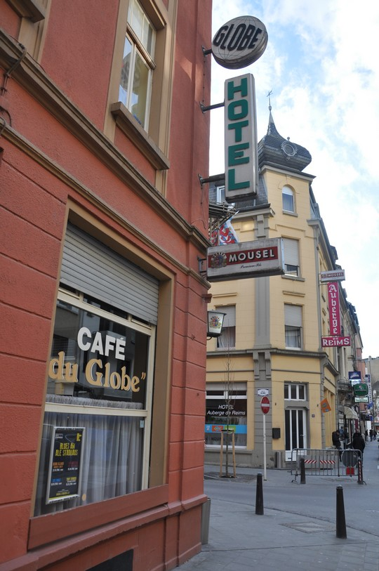 Cafészëmmer im Hotel du Globe_Luxemburg ⓒ Ekkehart Schmidt