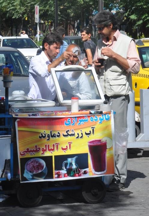 Persische Eiscafés © Ekkehart Schmidt