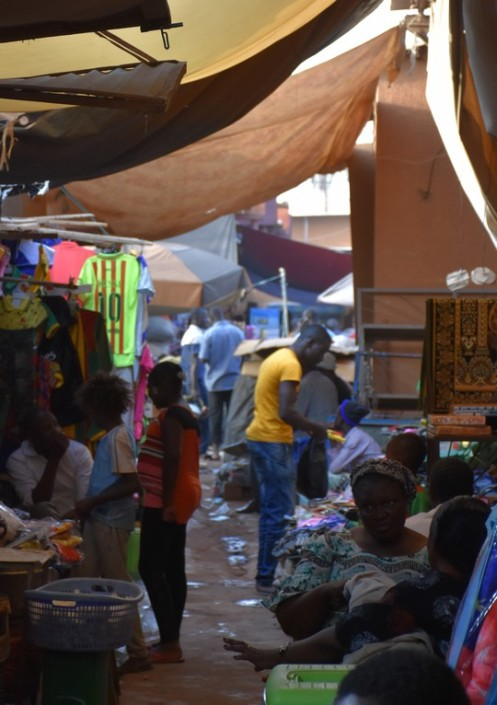 Marché de Sankariaré_Ouagadougou © Ekkehart Schmidt