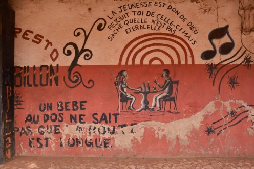 Maquis Resto Le Tourbillon_Ouagadougou © Ekkehart Schmidt