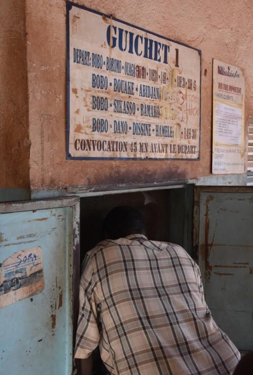 Busstation in Bobo Dioulassou © Ekkehart Schmidt
