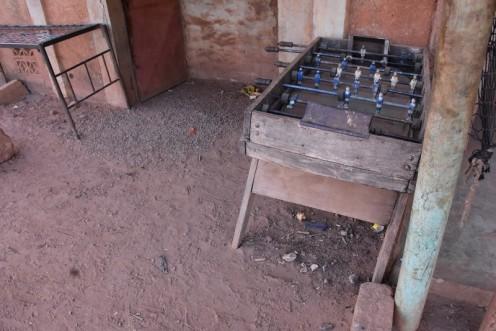 Tischfußball, selbstgebaut_Burkina Faso © Ekkehart Schmidt