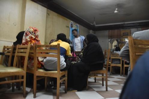 Sudanesische Lokale in Kairo © Ekkehart Schmidt
