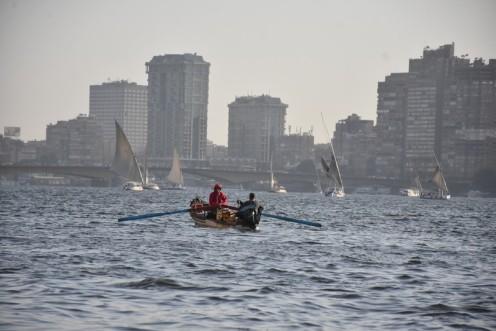 Auf Plastikstühlen am Nil © Ekkehart Schmidt