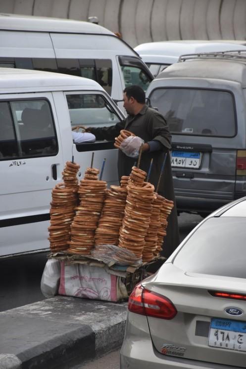 Auf Plastikstühlen am Nil_Kairo © Ekkehart Schmidt