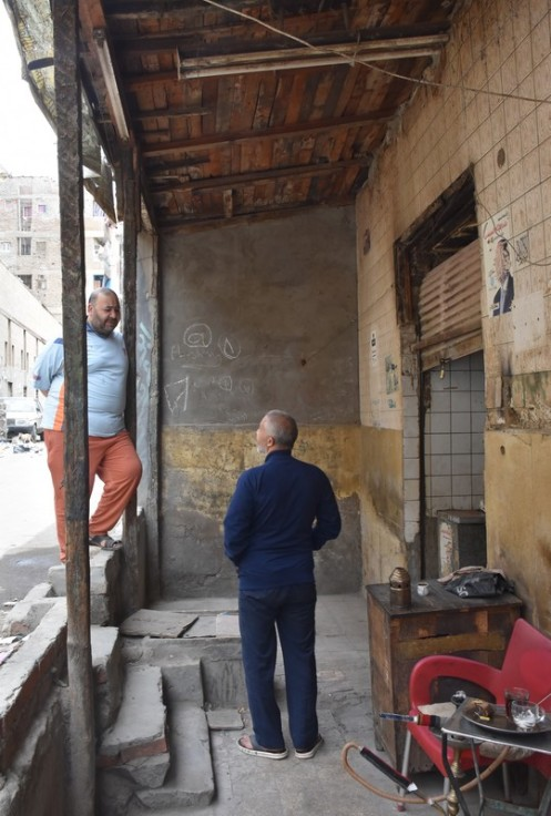 Ahwa in Al-Qaafa_Kairo © Ekkehart Schmidt