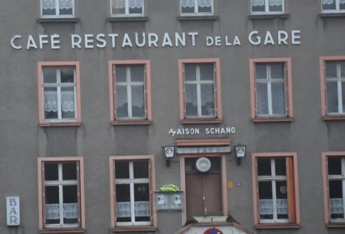Café Restaurant de la Gare_St. Avold © Ekkehart Schmidt