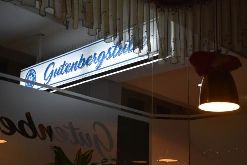 Gutenbergstube_Saarbrücken © Ekkehart Schmidt